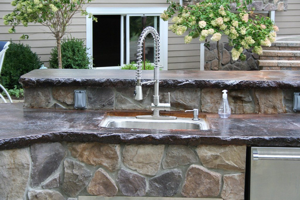 ... Outdoor Kitchen Concrete Countertop By OHI Concrete Design    Www.ohiservices.net | By