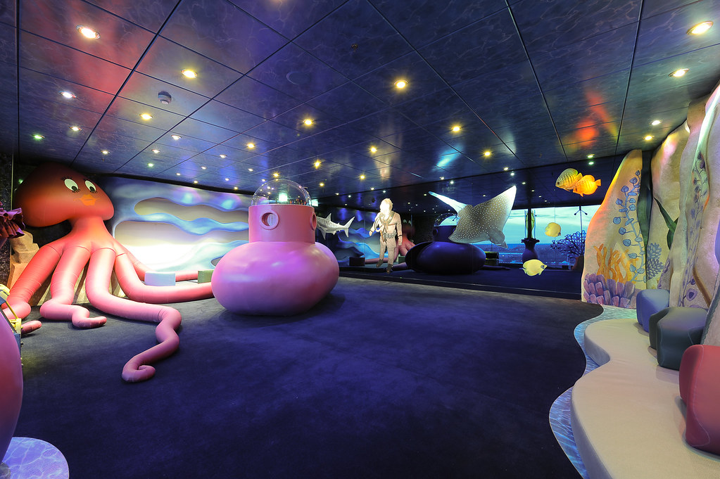 Underwater World Playroom On Msc Magnifica Opulent And