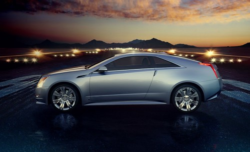 2010 Cadillac Cts Coupe Concept Silver Cts Coupe Concept Flickr