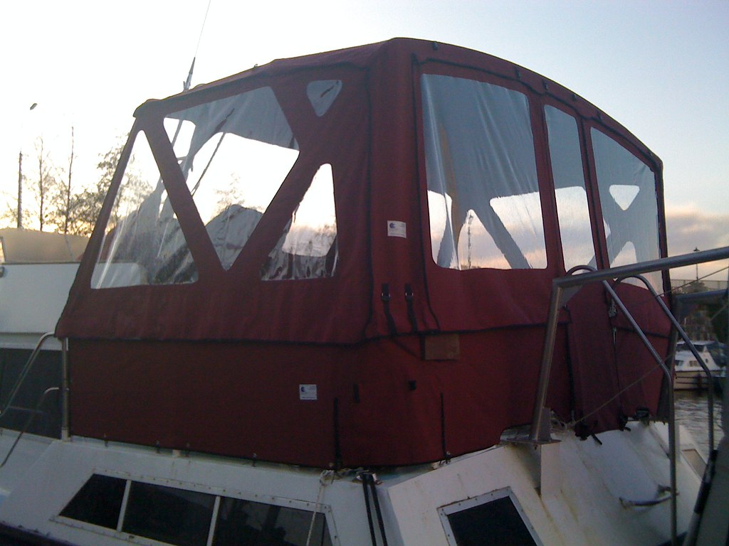 Metal Boat Covers : Dutch steel canopy boat covers ireland email info