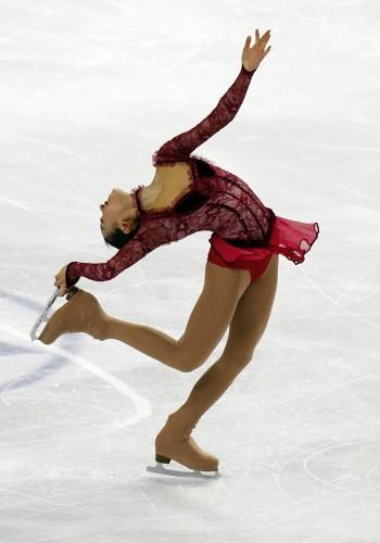 2010 ISU World Figure Skating Championships -layback spins ...