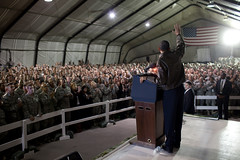 President Obama surprises troops in Afghanistan | by The U.S. Army