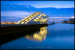 Hamburg - The Dockland on the River Elbe | by Yen Baet
