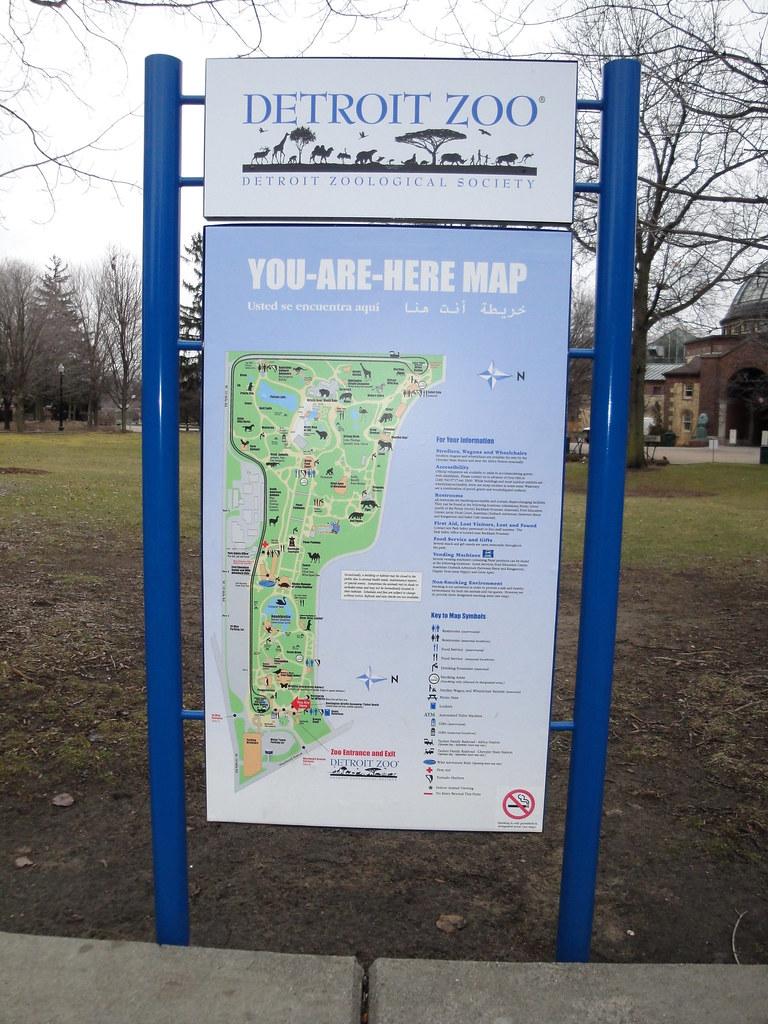 Detroit Zoo  Zoo Map  Fkalltheway  Flickr