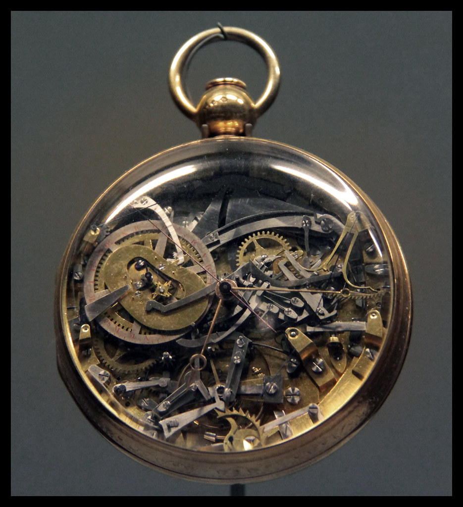 Complex watch with double face by Abraham-Louis Breguet, c ...