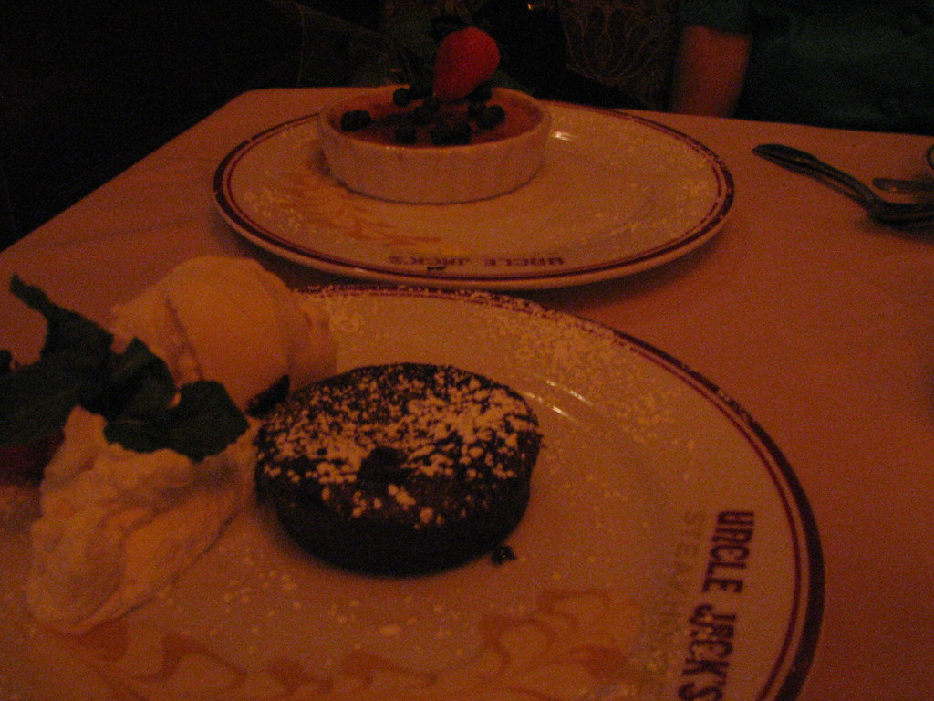 Chocolate Souffle Cake California Pizza Kitchen