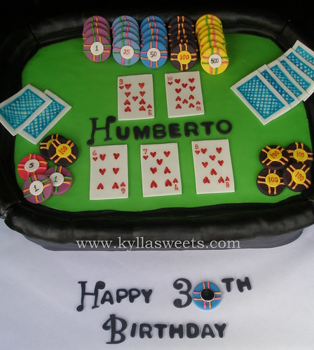 Casino Themed Cake Pictures