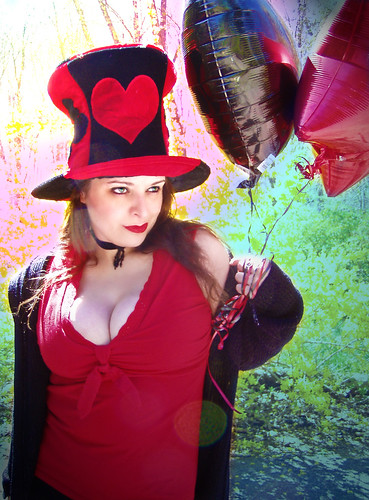 Equal parts Mad Hatter and Queen of Hearts | by *M-C1*