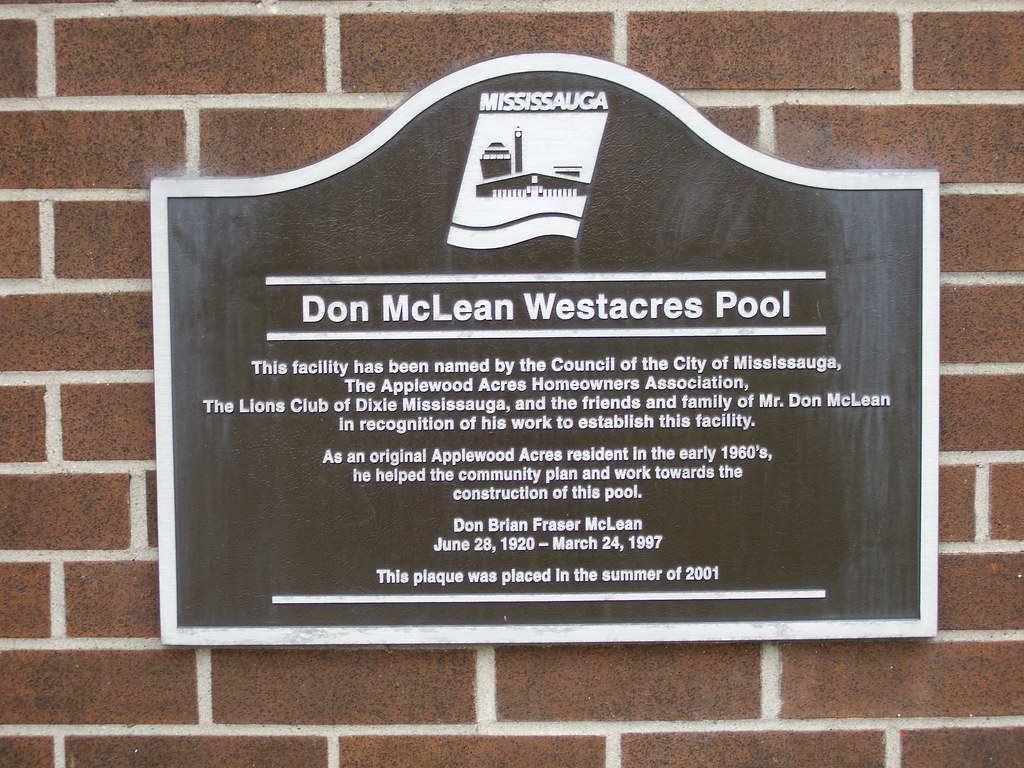 don mclean westacres outdoor pool