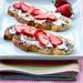 Mascarpone, Nutella, and Fresh Berry Toasts