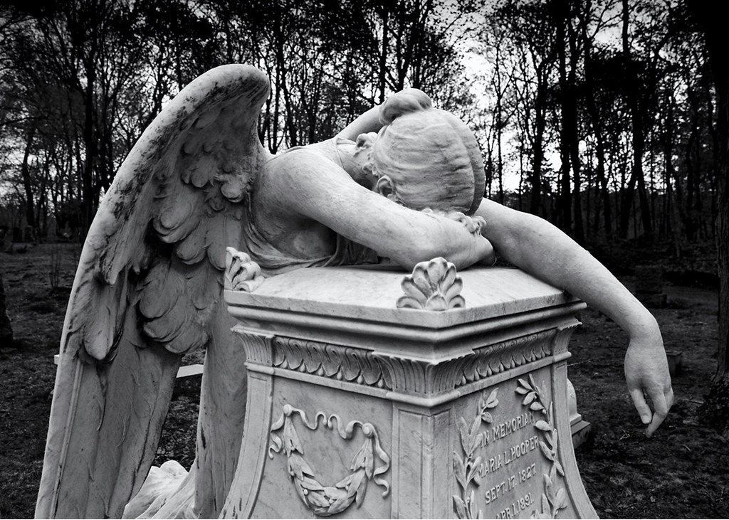 Grieving Angel Hingham Cemetery Hingham MA Erected by J Flickr