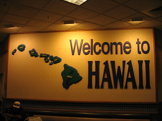 Welcome to Hawaii, Honolulu International Airport | by Ken Lund