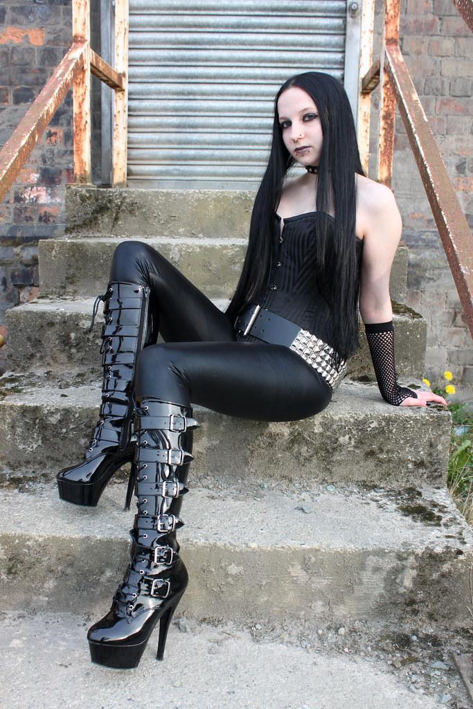 Think, that Gothic goth girl sex something