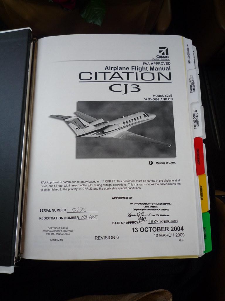 airplane flight manual citation cj3 newbierunner flickr rh flickr com airplane flight manual supplement airplane flight manual oei climb gradient