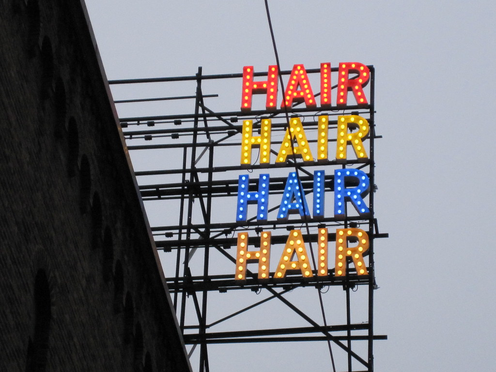 HAIR - Let the Sunshine In | I saw a musical named