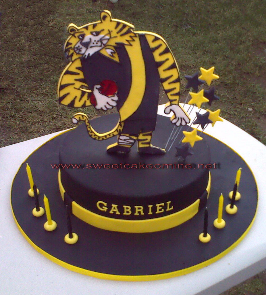 Richmond Tigers By Sweet Cake O Mine