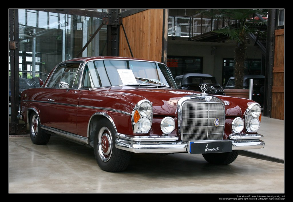 1965 Mercedes W 111 (250SE) Coupé (04) | The Mercedes-Benz W… | Flickr