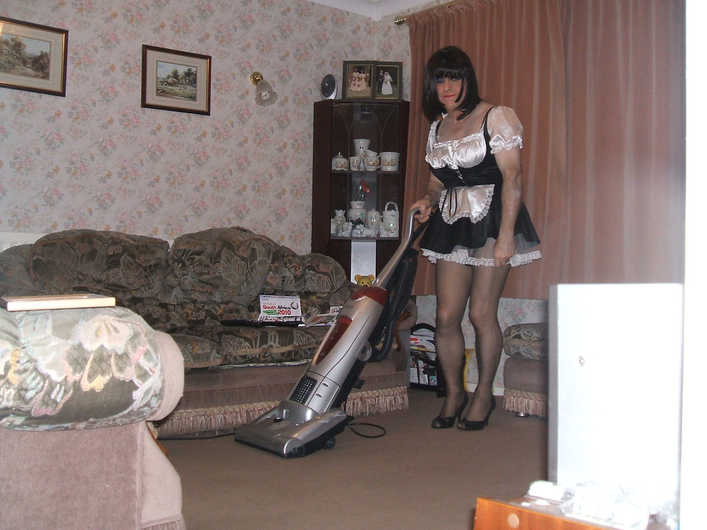 Maid doing it with two guys 5