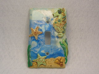 Under the Sea Switchplate cover | by FantasyClay