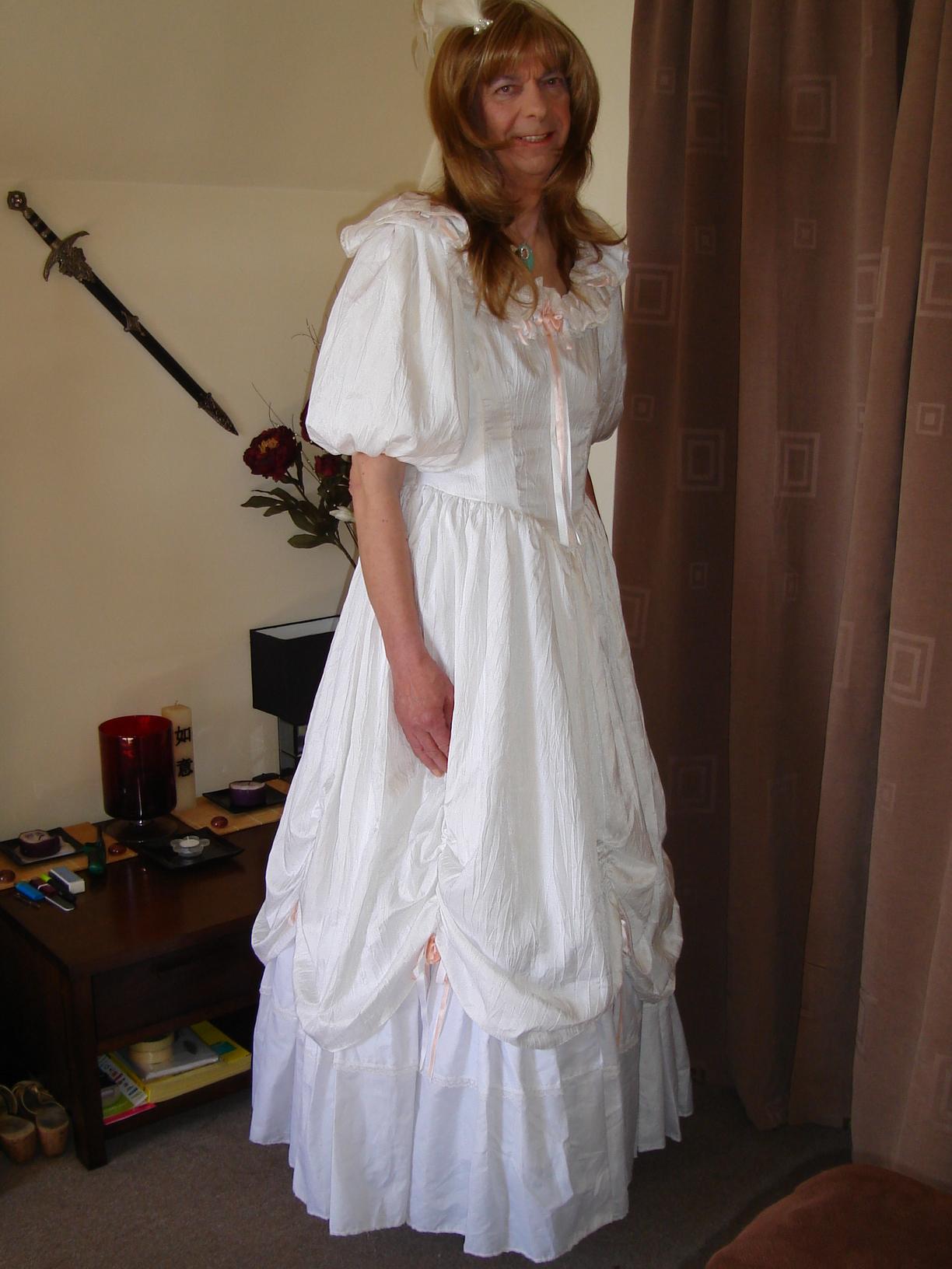 My Wedding Day ..... at last I am ready!