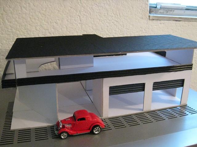 Hot Weels Garage : Hot wheels garage tuning shop under construction flickr