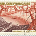 1969 French Stamp - Barrage de Vouglans