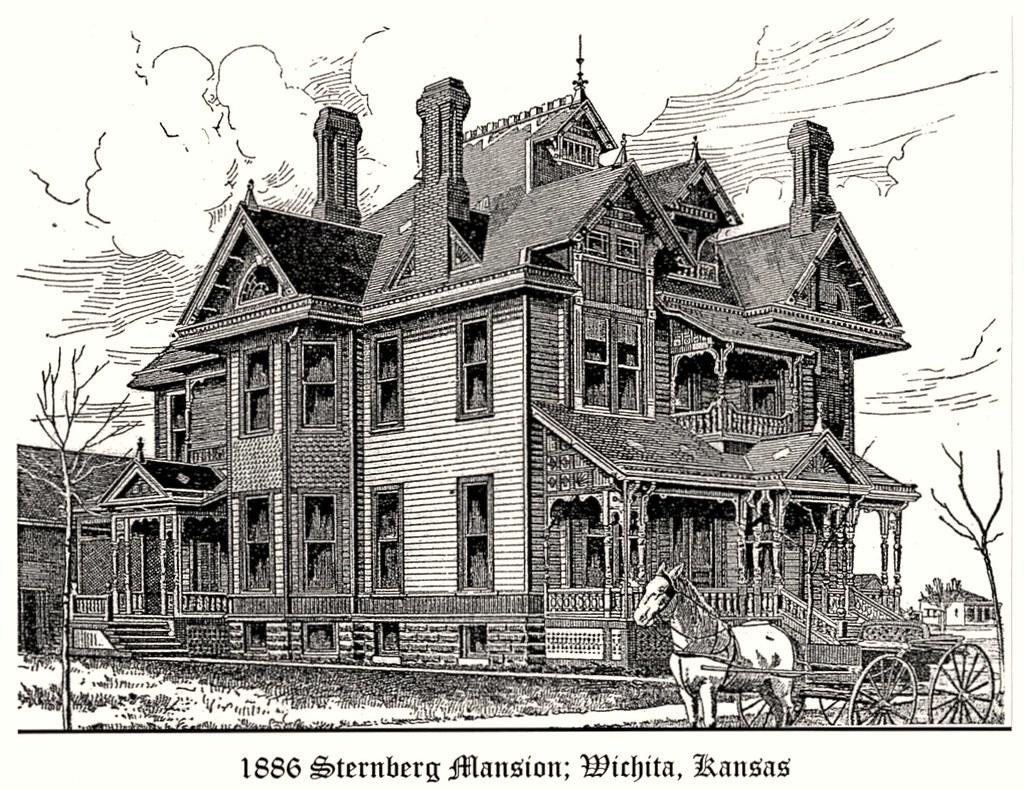 Sternberg Mansion Wichita Ks Best Viewed Large Size Thi Flickr