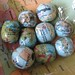 Vintage Map Beads