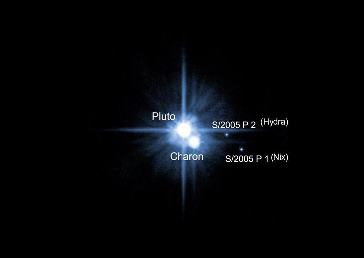 Pluto Moons Nix And Hydra S: Pluto's Moons Hydra And Nix Were First