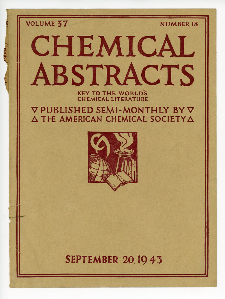Chemical Abstracts Cover: Volu...