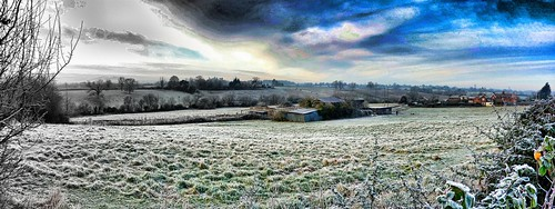 Winter - Hallow, Worcestershire, UK