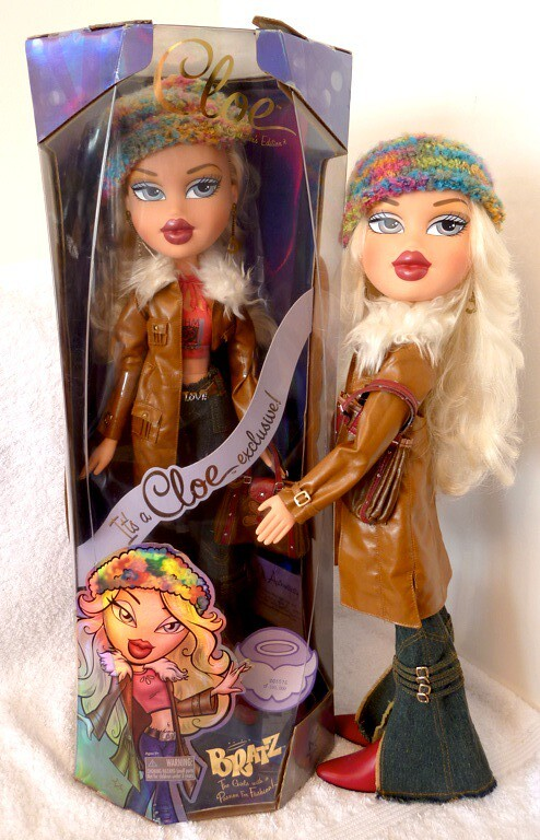 bratz big collectors limited edition cloe doll