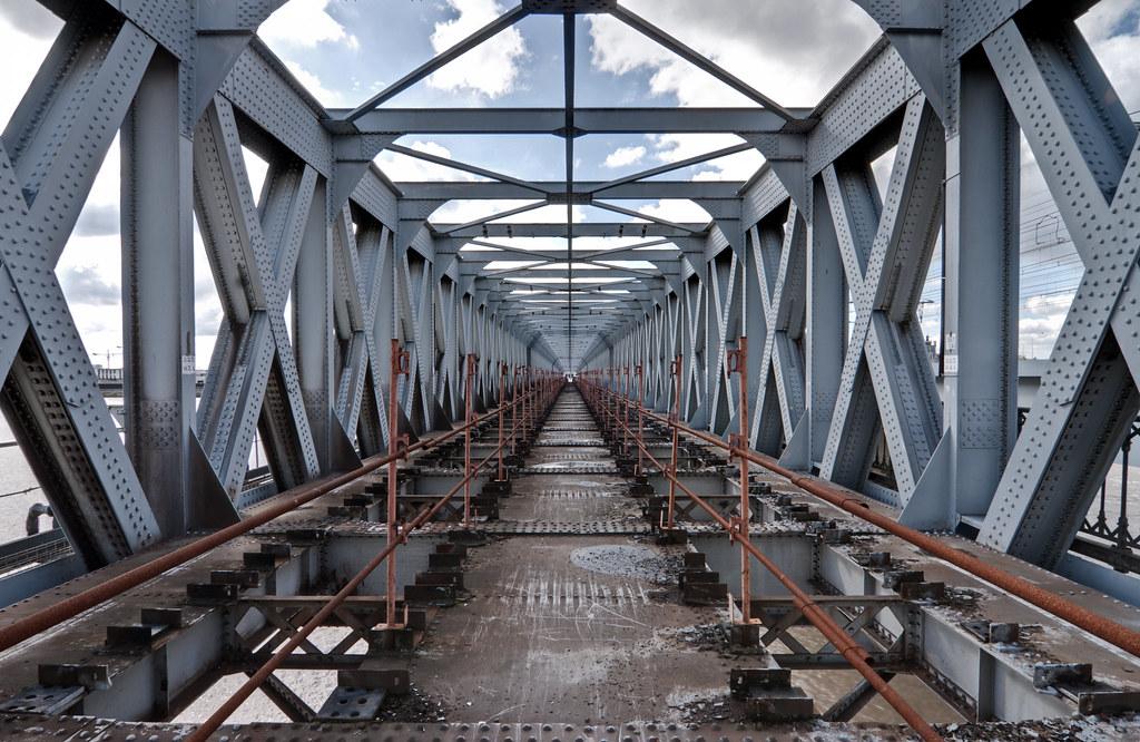 Pont eiffel ancien pont ferroviaire bordeaux chmop flickr - Pont ferroviaire de bordeaux ...