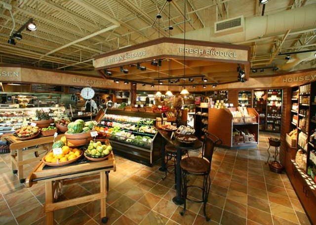 Interior Grocery Store Décor | Interior Grocery Store ...