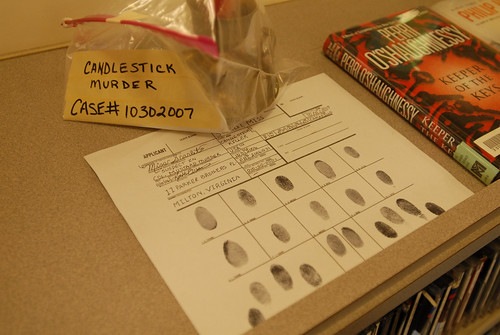 University library CSI Candlestick Murder evidence Halloween 2007. | by California State University Channel Islands