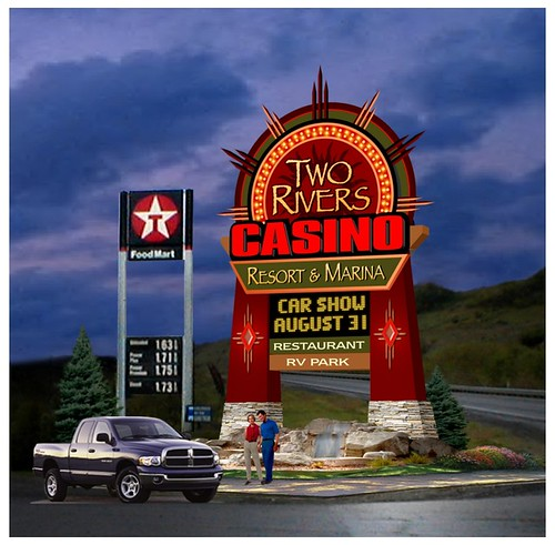 Merveilleux Two Rivers Casino | Flickr