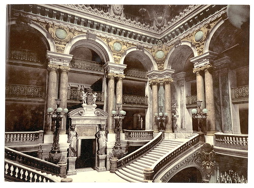 [Opera House staircase, Paris, France] (LOC) | by The Library of Congress