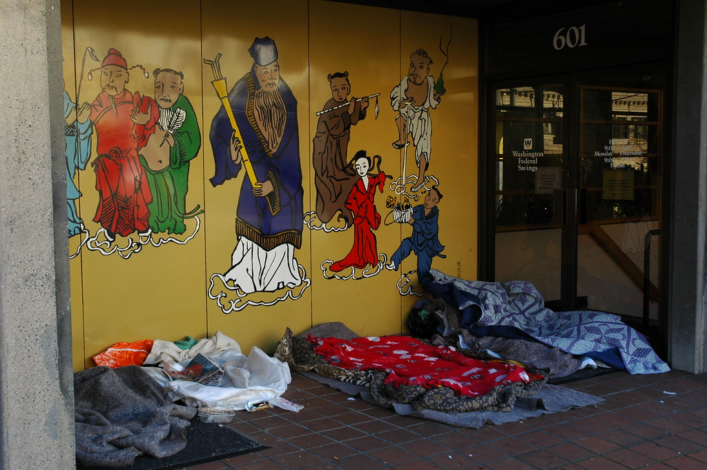 Confucius Christmas, no room at the Inn, public beds, wher… | Flickr