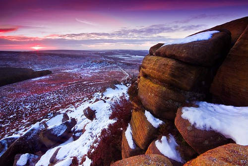 Freezing Cold Morning at Higger Tor - The Peak District | by Dinky Do's
