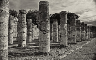 Columns - Temple of a Thousand Warriors | by mybulldog