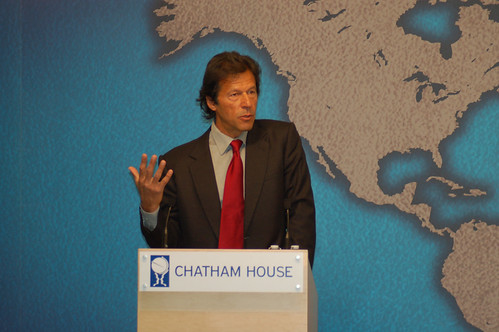 Imran Khan | by Chatham House, London