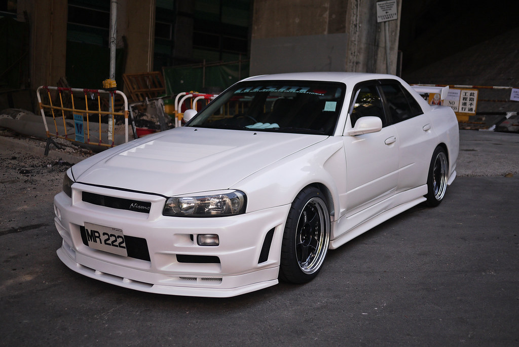 Skyline R34 Gtt Sedan Wide Fender Skyline R34 Gtt 4