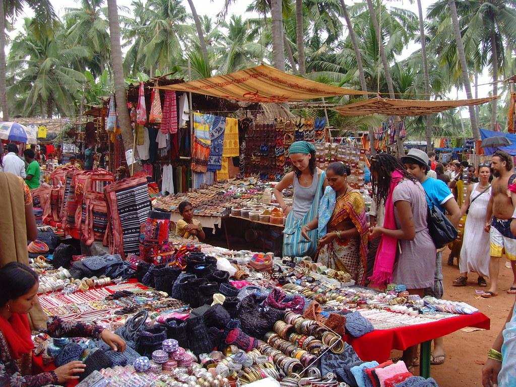 Goa Anjuna Hippie Markt Klaus Nahr Flickr
