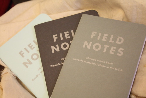field notes, so excited | by quite peculiar