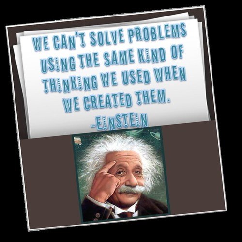 """""""We Can't Solve Problems Using"""