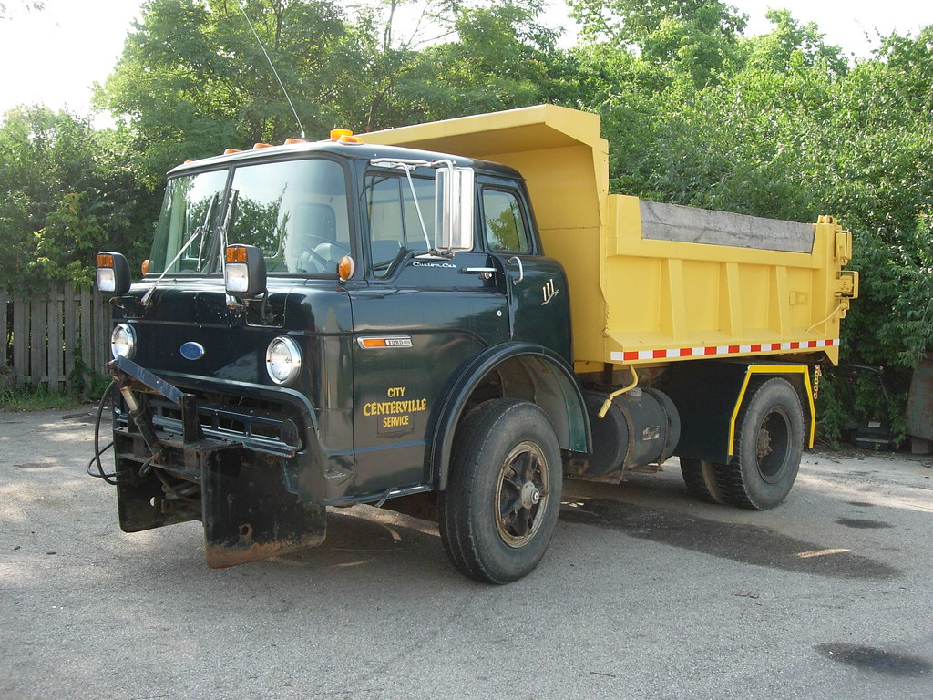 centerville oh ford cabover plow truck a 1980 s vintage f flickr rh flickr com 1950 Ford Coe Truck Chevy COE Trucks