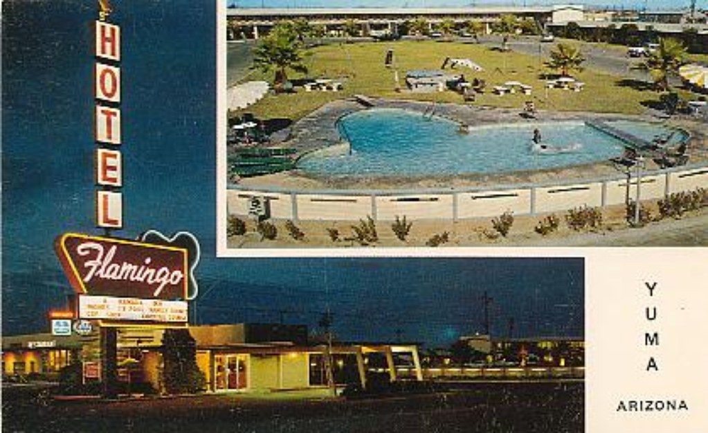 flamingo motor hotel yuma az 4th and 24th touched up. Black Bedroom Furniture Sets. Home Design Ideas