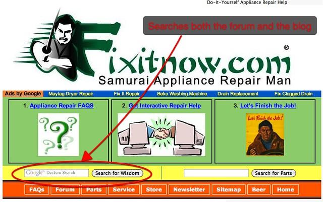 repair home appliances