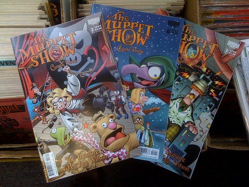 As I'm buying 3 more Muppets comic books, I'm finding comic book taste is skewing more to kids books :)
