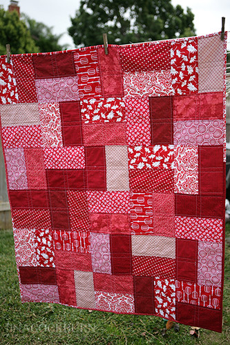 Easy Lap Quilt Another Holiday Gift For Someone Who